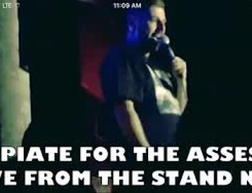 OPIATE FOR THE ASSES: SAM TRIPOLI LIVE FROM THE STAND NEW YORK